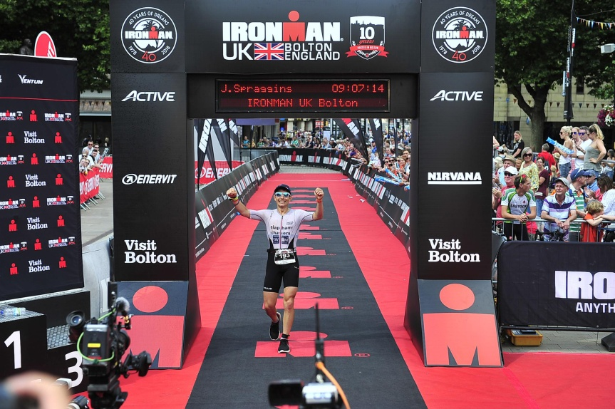 Ironman UK 2018 – Bike &Run